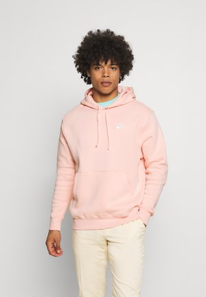 CLUB HOODIE - Hoodie - arctic orange/white