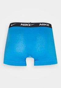 Nike Underwear - DAY STRETCH TRUNK 2 PACK - Underkläder - anthracite/blue - 2