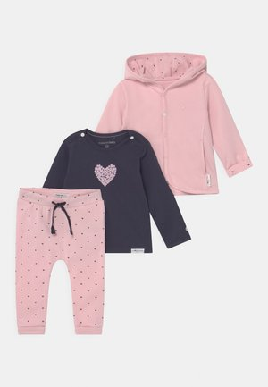 BABY SET - Cardigan - light rose