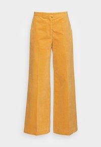 Samsøe Samsøe - COLLOT TROUSERS - Pantalones - ochre - 3