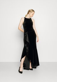 Adrianna Papell - CASCADE GOWN - Occasion wear - black - 1