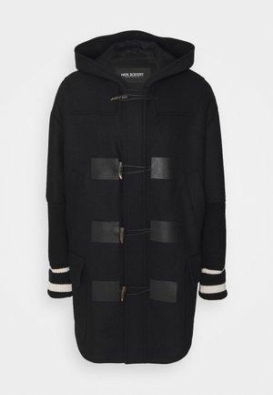 CLASSIC DUFFLE COAT - Classic coat - black/natural
