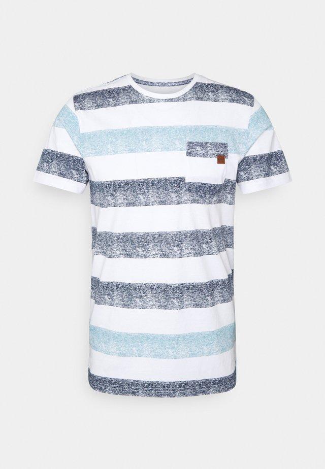 HERNANDEZ - T-shirts med print - blue wave