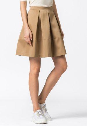 A-line skirt - camel
