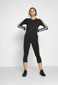 adidas Performance - Camiseta de deporte - black/white - 1