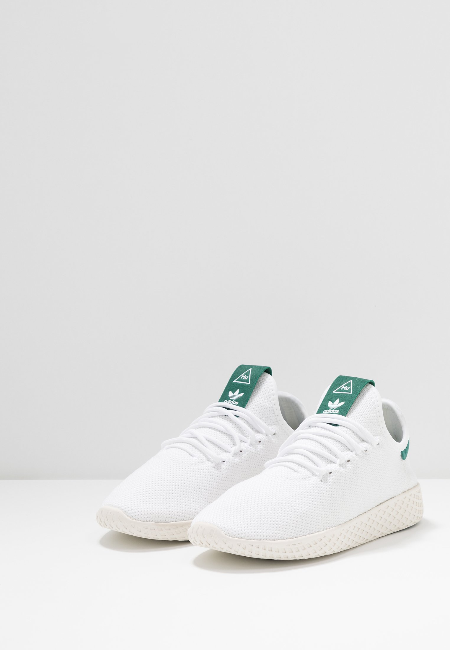 Limited New Drop Shipping Women's Shoes adidas Originals PW TENNIS HU Trainers footwear white/offwhite/collegiate green zTTYz01MW CoD6PT08E