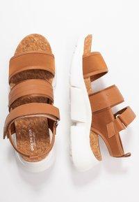 Shoe The Bear - MALA SPORT  - Platform sandals - tan - 3