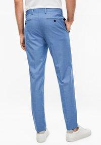 s.Oliver BLACK LABEL - Suit trousers - blue - 2