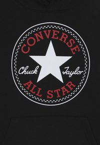 Converse - CHUCK PATCH HOODIE  - Felpa con cappuccio - black - 4