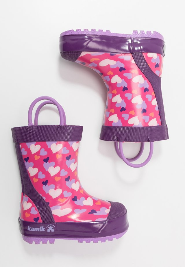 LOVELY - Wellies - pink/rose