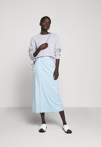 Filippa K - VIOLA SKIRT - Maxi sukně - pale blue - 1