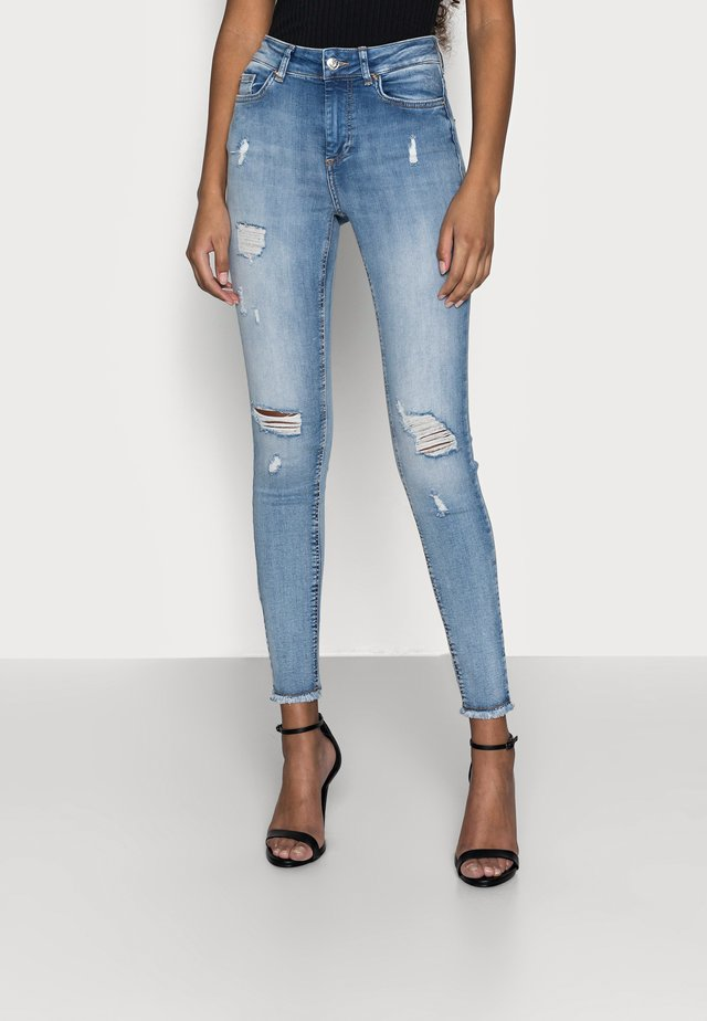ONLBLUSH LIFEMID - Jeans Skinny - light blue denim