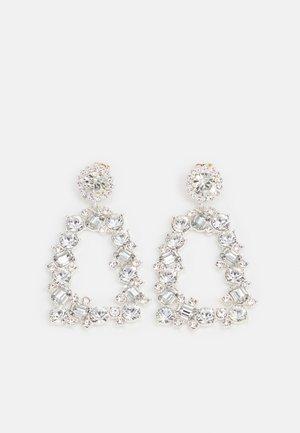 PCTULLA EARRINGS - Boucles d'oreilles - silver-coloured