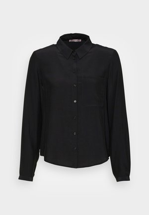 Basic Blouse with pocket - Camicia - black