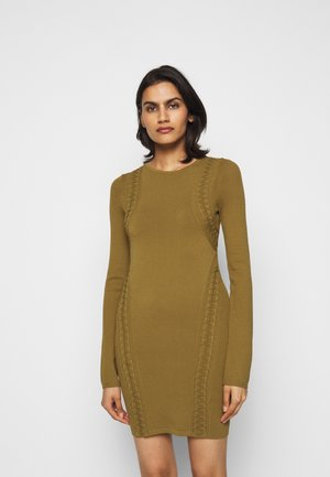 KARDESHIAN DRESS - Jumper dress - industrial green