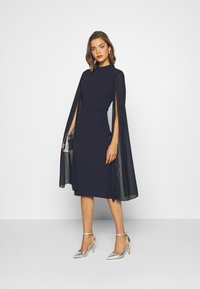 WAL G. - CAPE SLEEVE DRESS - Cocktail dress / Party dress - navy blue - 1