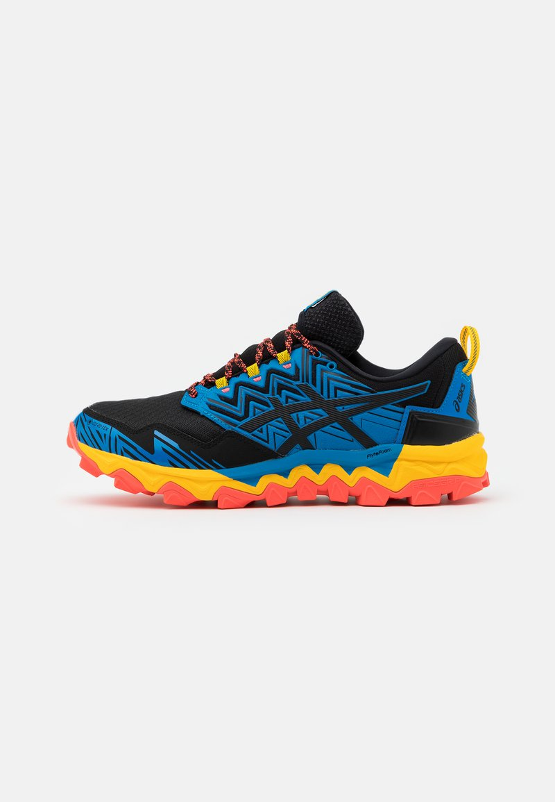 ASICS - GEL-FUJITRABUCO  - Trail running shoes - blau/orange