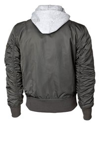 Alpha Industries - Bomber Jacket - rep. grey - 1