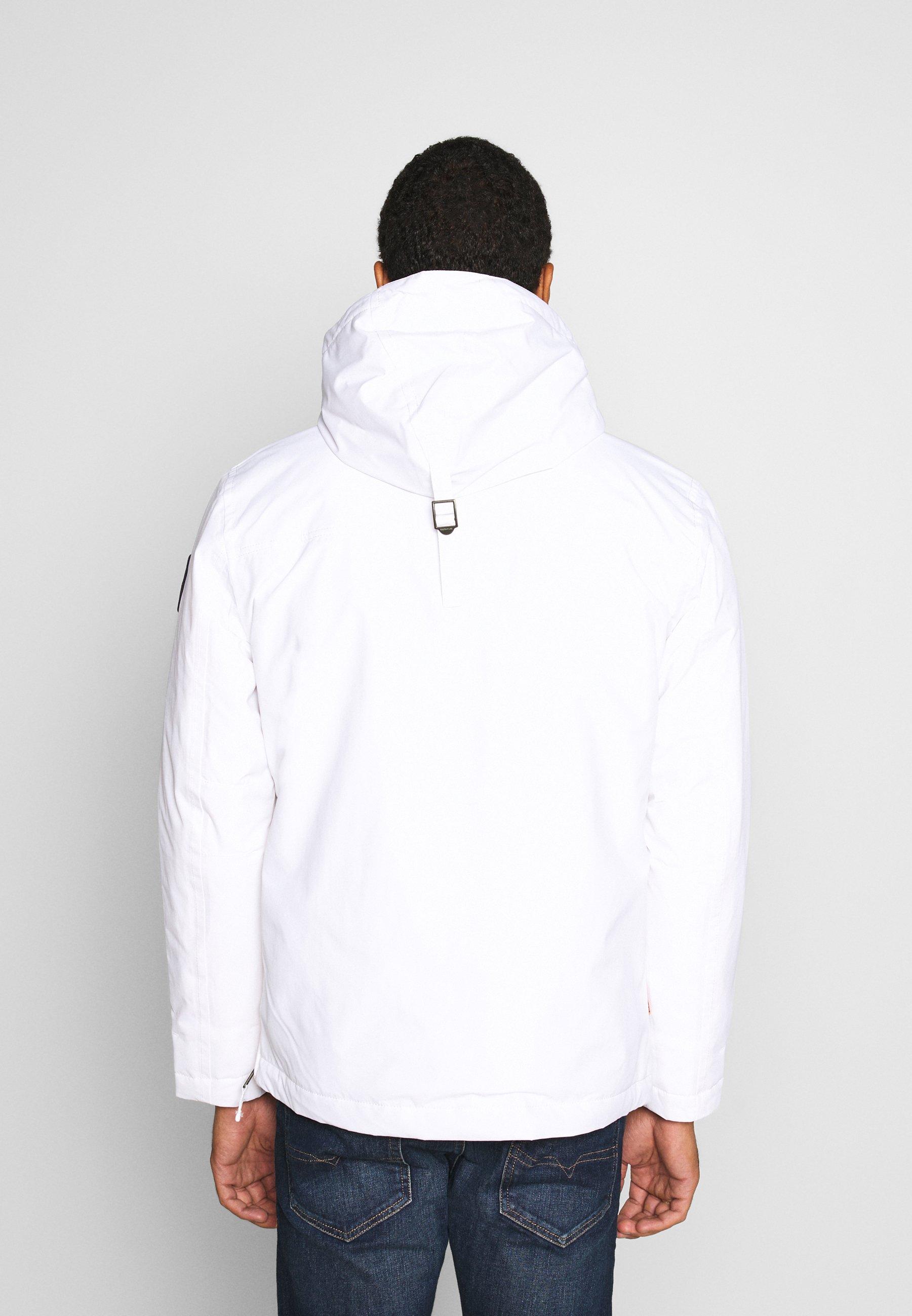 Napapijri RAINFOREST WINTER Übergangsjacke brightwhite/weiß