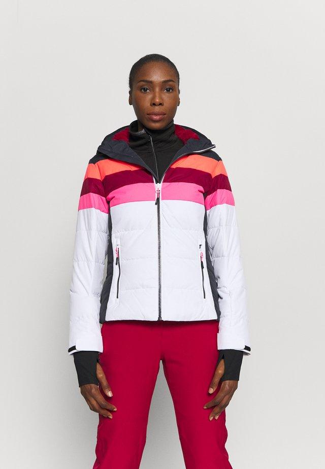 Kurtka narciarska - bianco