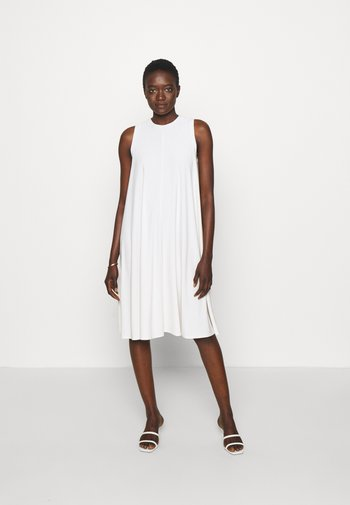RIBALDO - Jersey dress - white