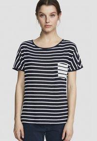 North Sails - Print T-shirt - dark blue - 0