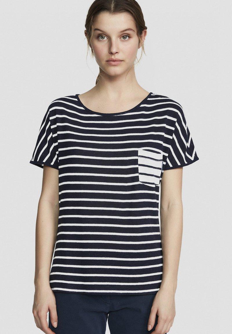 North Sails - Print T-shirt - dark blue
