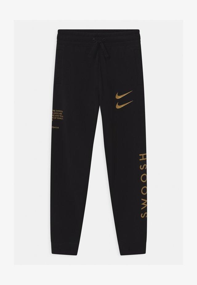 Pantalon de survêtement - black/gold
