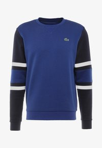 Lacoste Sport - SWEATER - Mikina - ocean/navy blue/white - 4