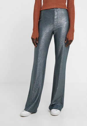 NYX TROUSER - Bukse - blue/grey