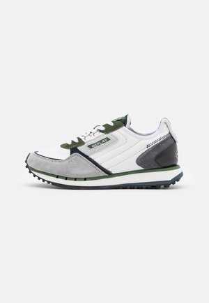 DRUM WAVE - Sneakers laag - white/green navy