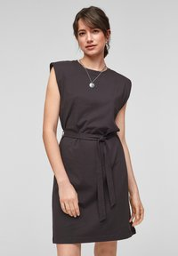 QS by s.Oliver - Jersey dress - black - 0