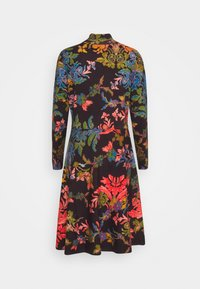 Ivko - PRINTED DRESS FLORAL PATTERN - Strikket kjole - brown/red - 1