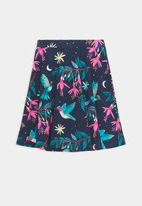 Walkiddy - SKIRT HUMMINGBIRD TROPICAL - A-line skirt - dark blue - 1