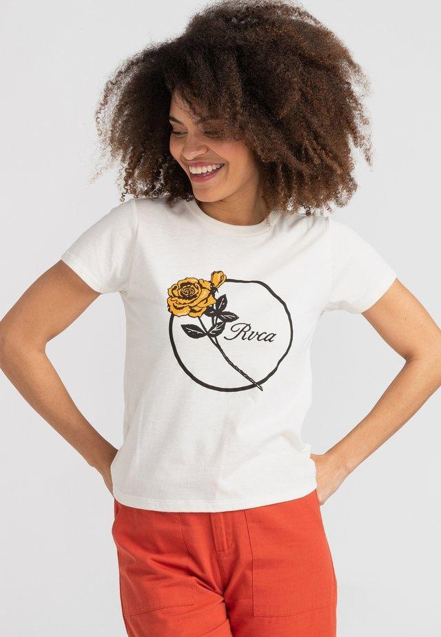 THORNS - T-shirt imprimé - antique white