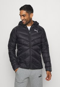 Puma - PWRWARM PACKLITE JACKET - Down jacket - black - 0