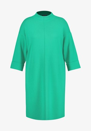 STRICK MIT TURTLENECK - Jumper dress - electric green