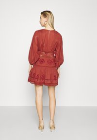 Free People - TEA TIME MINI - Day dress - rust worthy - 2