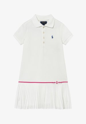 POLO DRESS - Vestito estivo - white