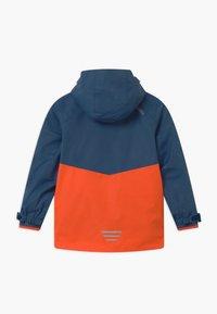 TrollKids - KIDS BRYGGEN JACKET UNISEX 2-IN-1 - Hardshell jacket - mystic blue/orange - 1
