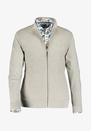 Cardigan - cream/lightgrey