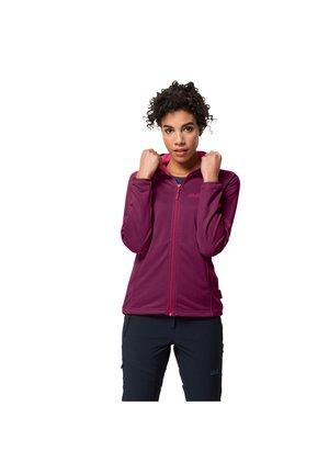 Fleece jacket - wild berry
