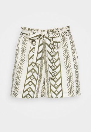VMDICTHE TIE EXP GA - Shorts - birch//ivy green