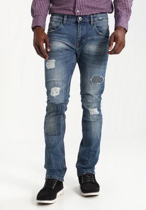 HALMSTAD - Slim fit jeans - blue wasch
