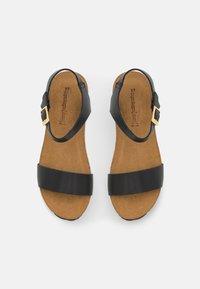 Copenhagen Shoes - CINDY - Platform sandals - black - 5