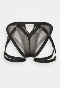 Ann Summers - THE VICTORIOUS SET - Triangle bra - black - 5