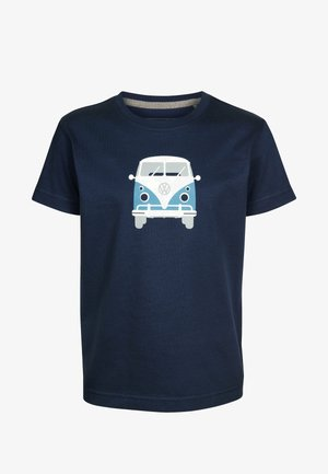 TEEINS  - Print T-shirt - darkblue