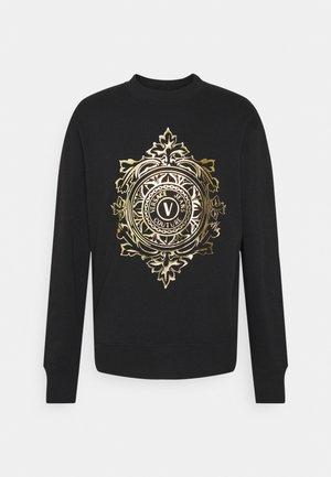 Sweatshirt - nero/oro