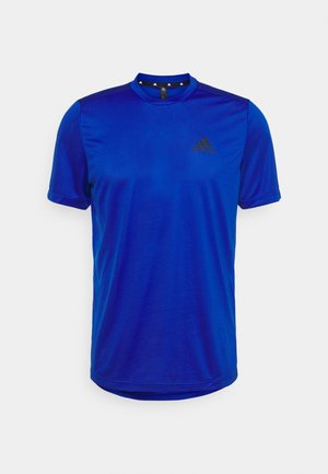T-shirt basic - royal blue/black