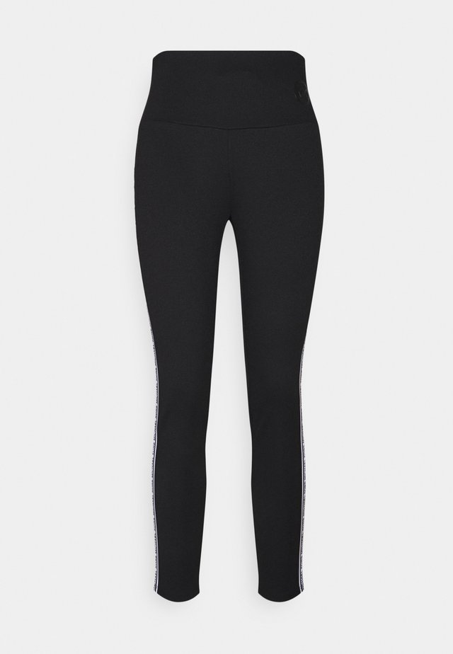 STRIPE TAPE - Legging - black